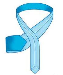 איך קושרים עניבה - שלב 2