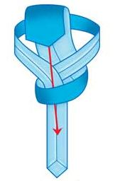 איך קושרים עניבה - שלב 4